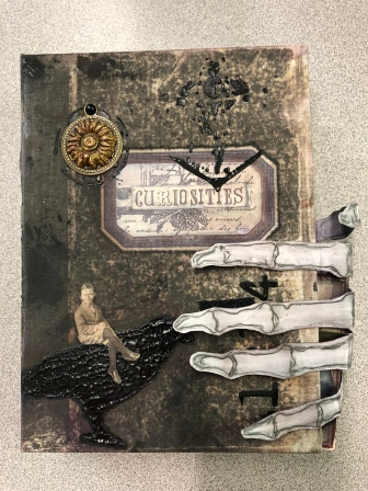 Cabinet of Curiosities Challenge by Sally